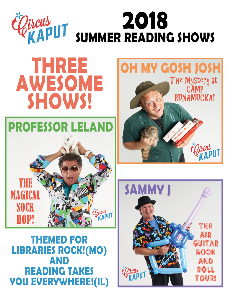 Summer 2018 Library shows